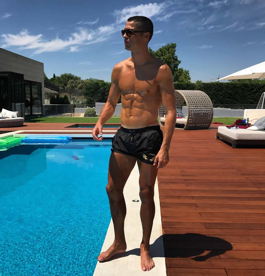 Ronaldo Gewicht