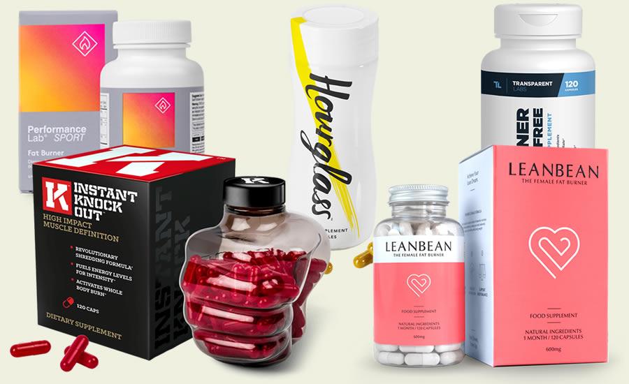 The Five Best Fat Burner Supplements in 2018