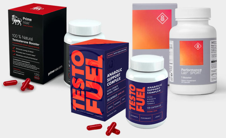 The Three Best Testosterone Boosters in 2019
