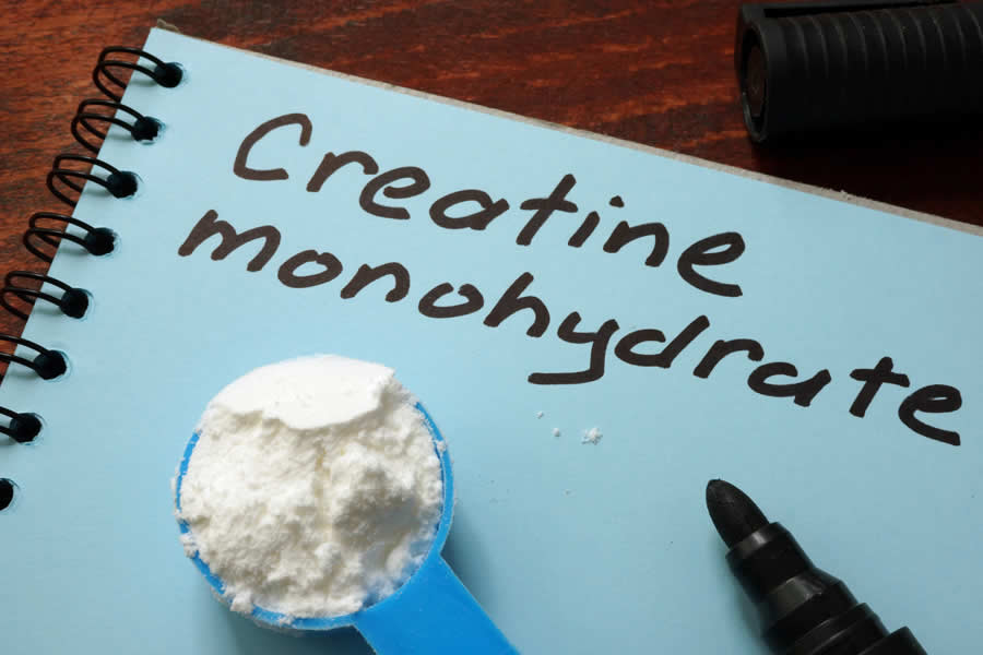 Creatine Monohydrate is the most popular form of Creatine and is also the cheapest. You'll find it in many pre workout supplements (Photo: Adobe Stock)