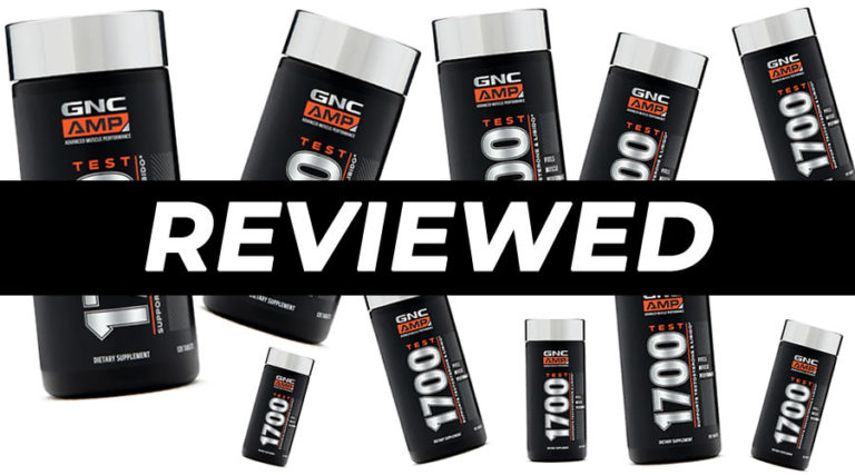 GNC AMP Test 1700 Review