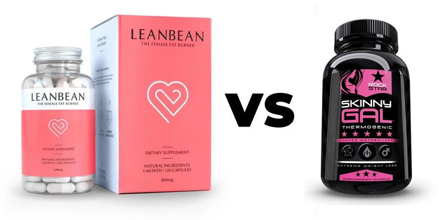 Leanbean vs Skinny Gal