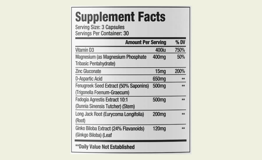 The Sheer Test ingredients formula in full. It's great that this product does not use a proprietary blend