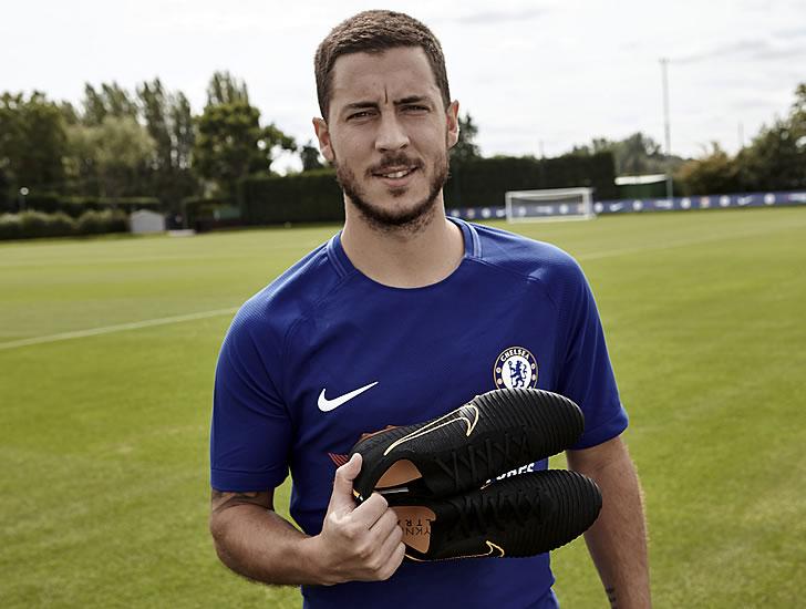 Eden Hazard boots