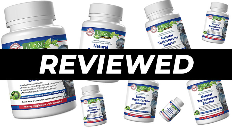 LEAN Nutraceuticals Natural Testosterone Booster Review
