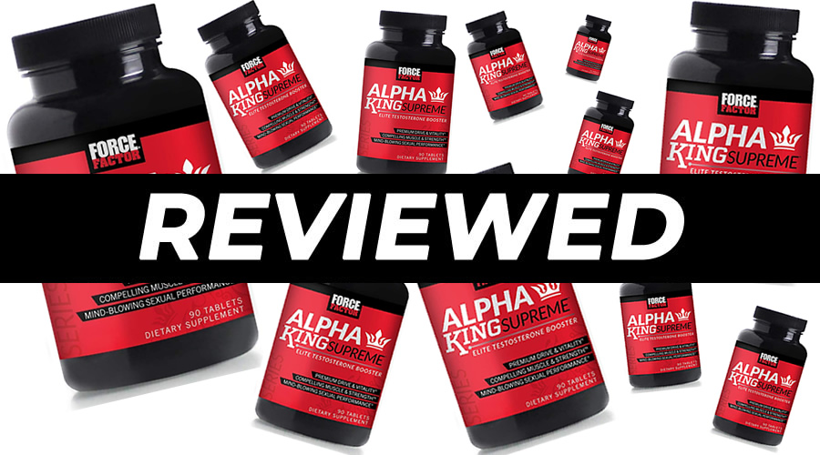 Alpha King Supreme by Force Factor Review