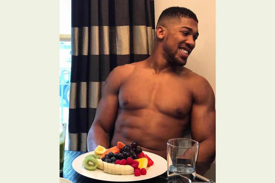 Anthony Joshua fruit