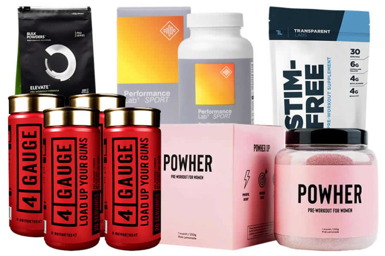 The Five Best Pre Workout Supplements in 2019