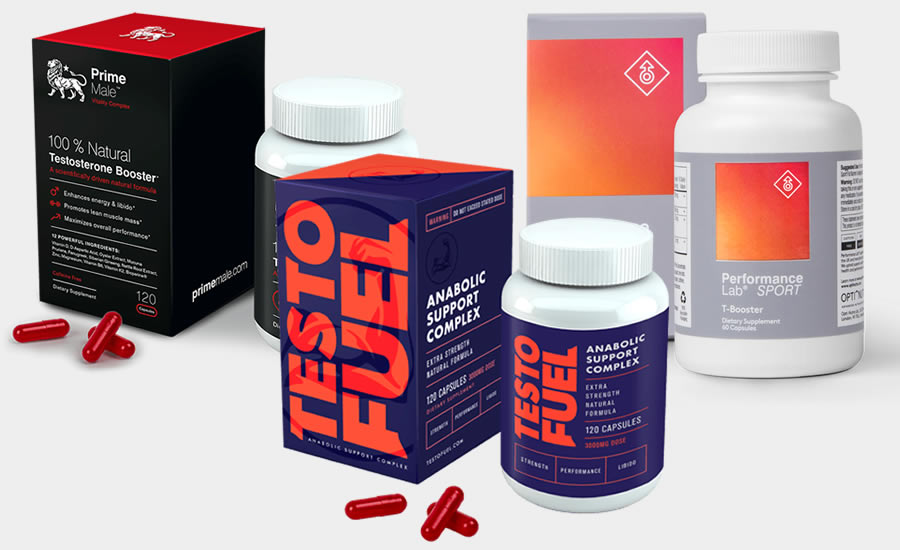Some of the leading testosterone booster supplements that use D-Aspartic Acid