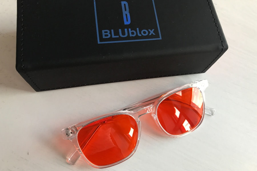 The BLUblox Crystal Sleep+ glasses are a smaller fit