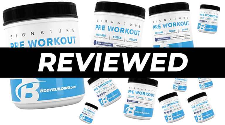 Bodybuilding.com Signature Pre Workout Review