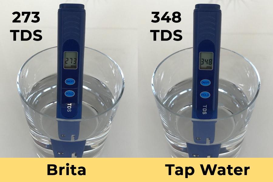 Brita vs Tap Water TDS