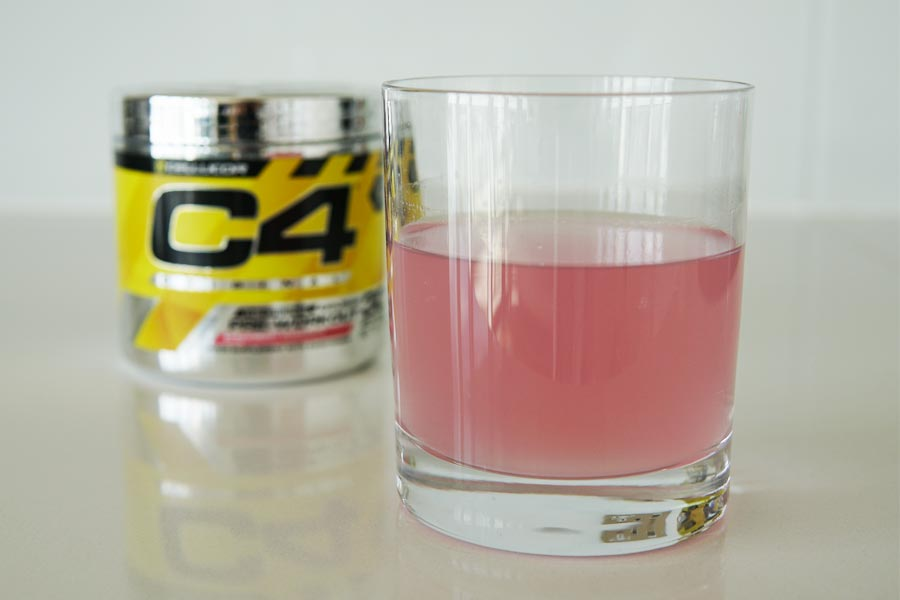 The Cellucor C4 pre workout supplement (Photo: HumanWindow)