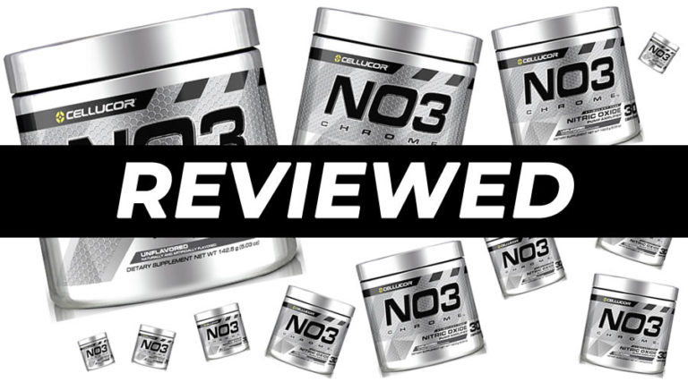 Cellucor NO3 Chrome Pre Workout Review