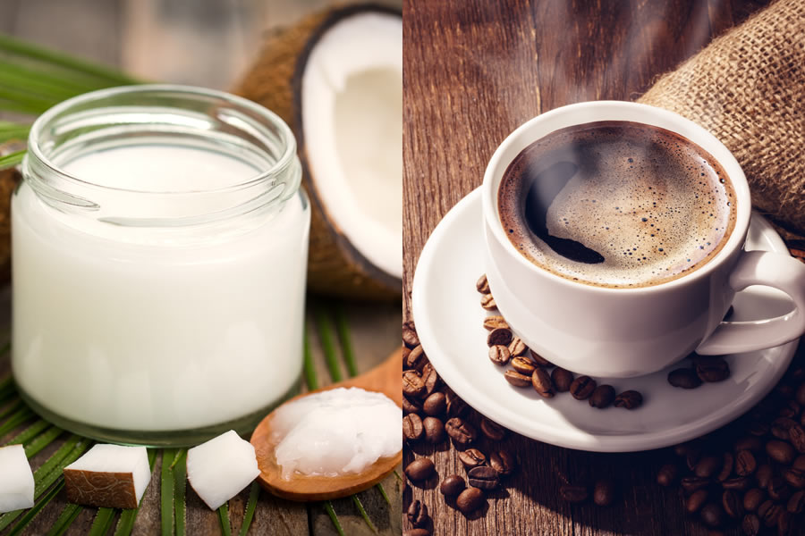 Coconut Oil in Coffee Recipe