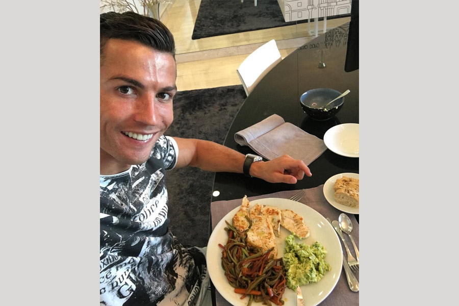 Cristiano Ronaldo diet and meal