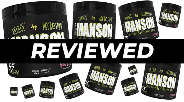 Dark Metal Manson Pre Workout Review
