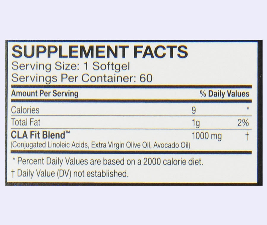 The FitMiss Tone ingredients formula. It's disappointing that this product uses a proprietary blend