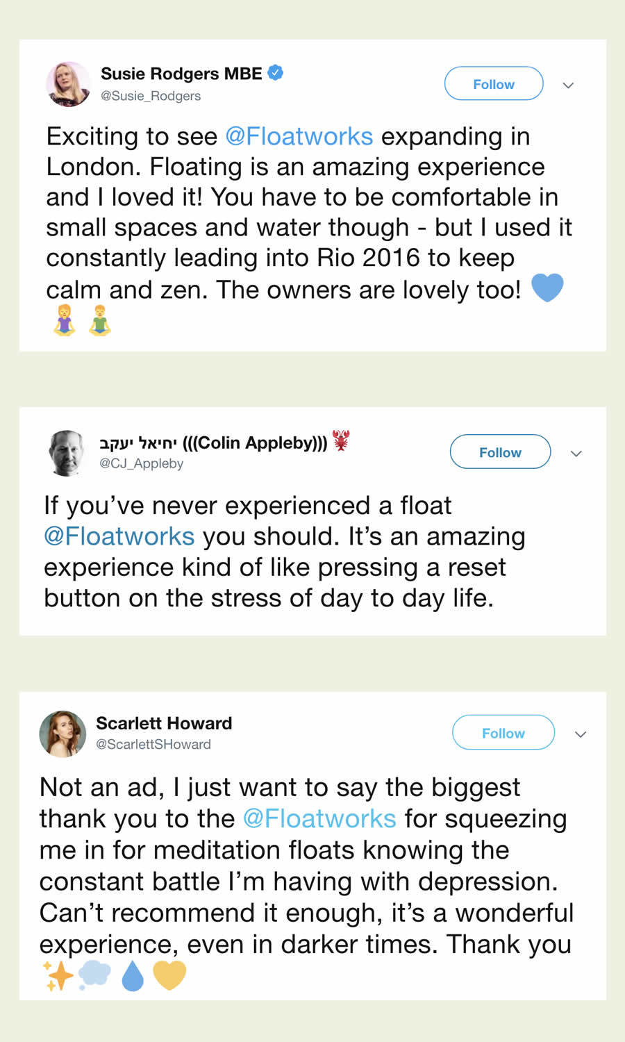 Floatworks reviews