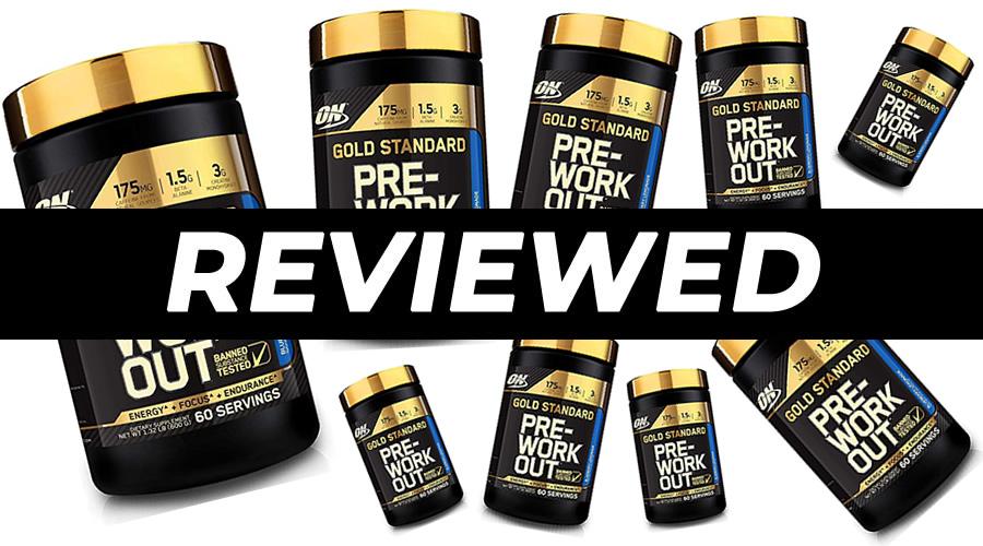 Optimum Nutrition Gold Standard Pre Workout Review