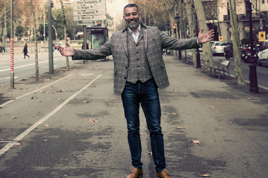 Guillem Balague (Photo: Maribel Herruzo, Style: Guide London)