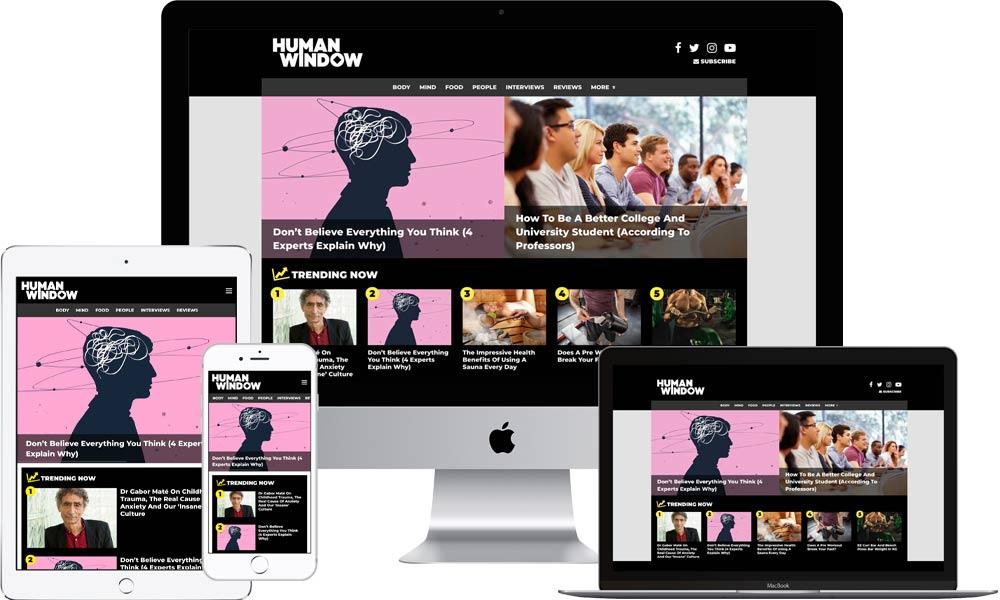 HumanWindow Website