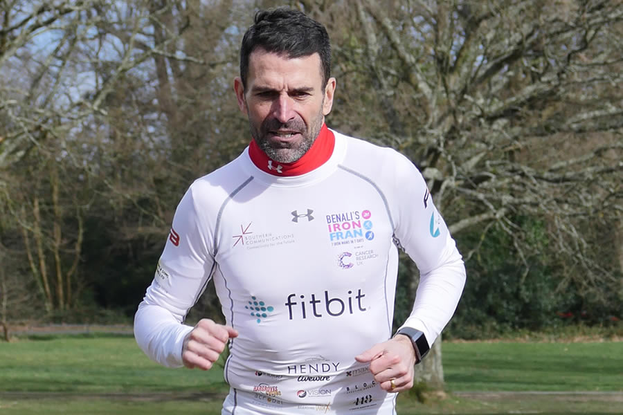 Francis Benali on Racing Seven Ironmans in Seven Days