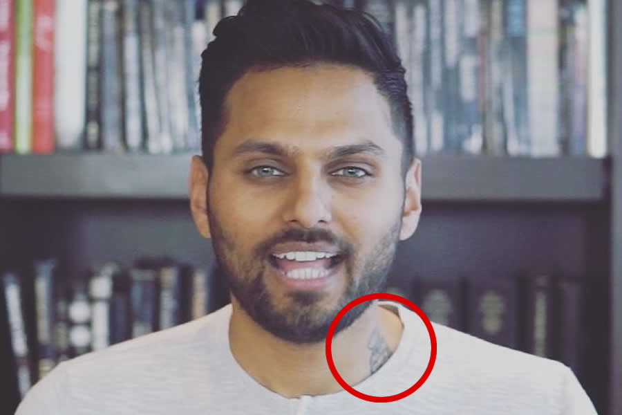 Jay Shetty tattoo