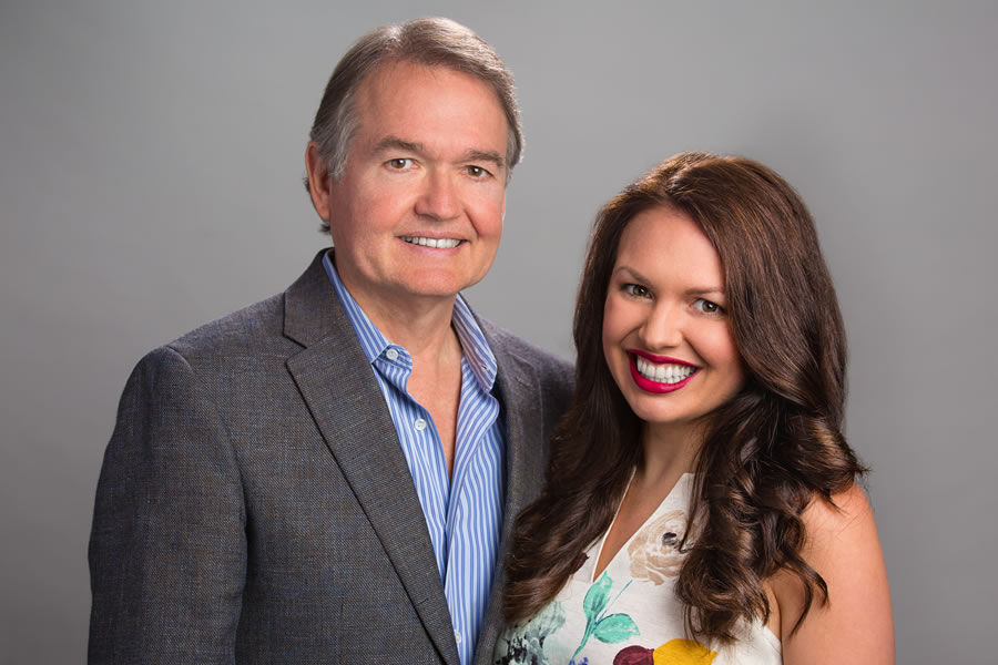 John Gray and daughter Lauren