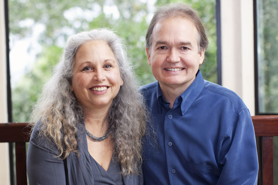 John Gray and his wife Bonnie