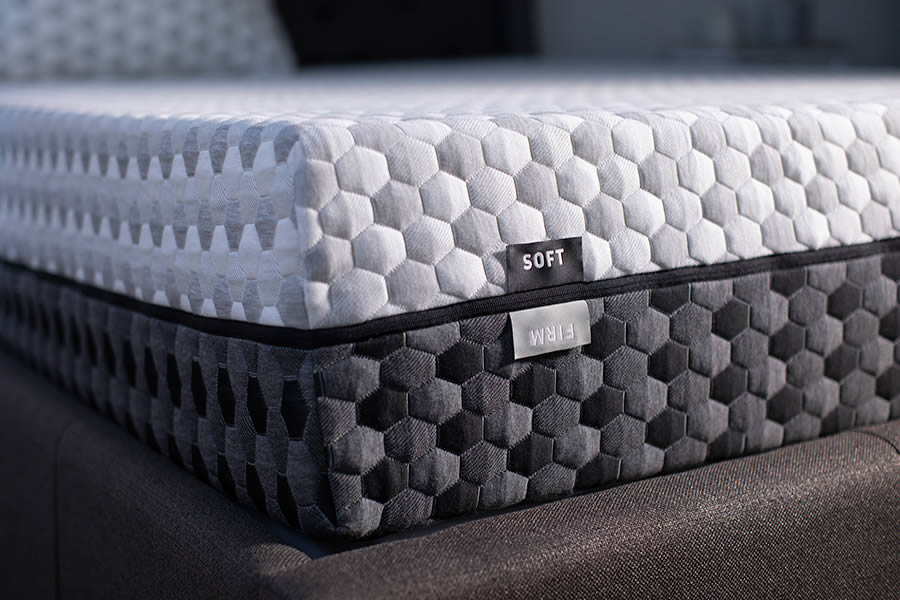 The Layla Mattress is flippable for a firm or soft feel (Photo: Layla)