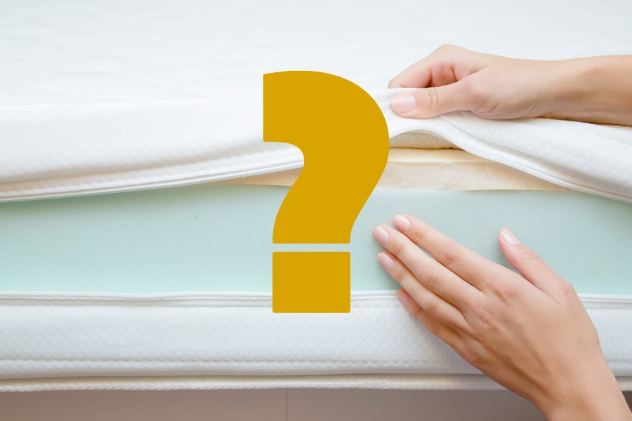 Memory Foam vs Hybrid Mattress (Photo: Adobe Stock)