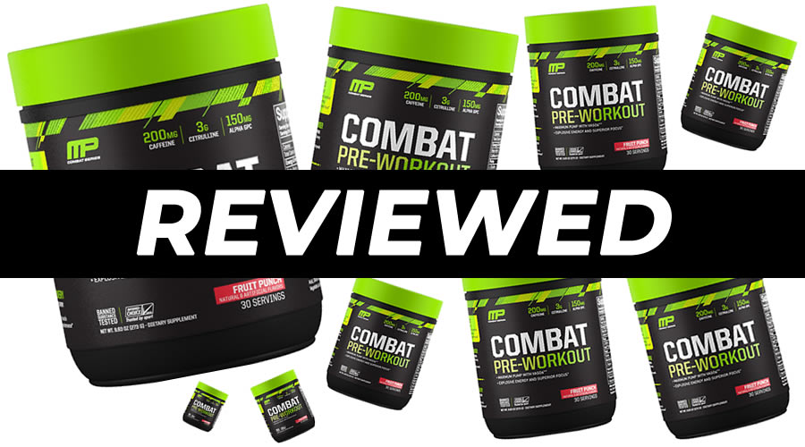 MusclePharm Combat Pre Workout Review