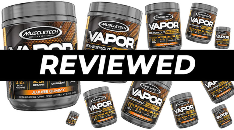 MuscleTech Vapor X5 Next Gen Pre Workout Review