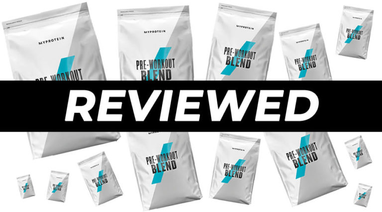 MyProtein Pre Workout Blend Review
