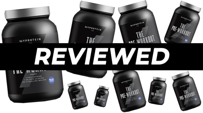 MyProtein THE Pre-Workout review