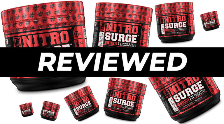 NitroSurge Shred Pre Workout Review