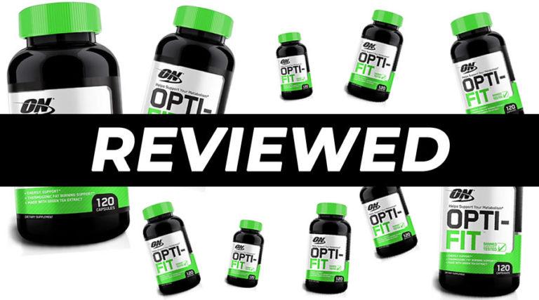 Opti-Fit by Optimum Nutrition Fat Burner Review