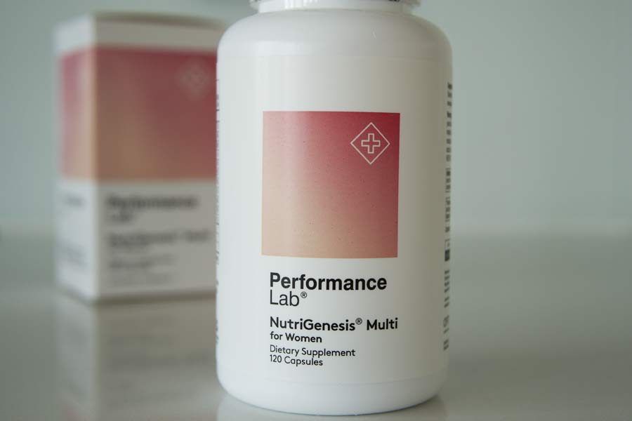 Performance Lab NutriGenesis Multi For Women