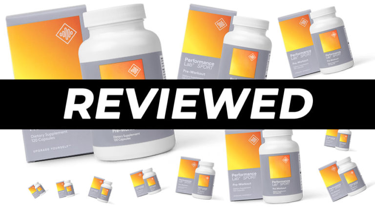 Performance Lab SPORT Pre-Workout Review