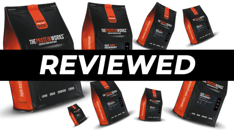 Raze-Burn Pre Workout The Protein Works Review
