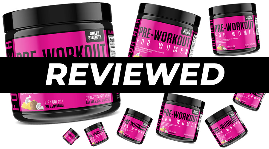 Sheer Pre Workout for Women