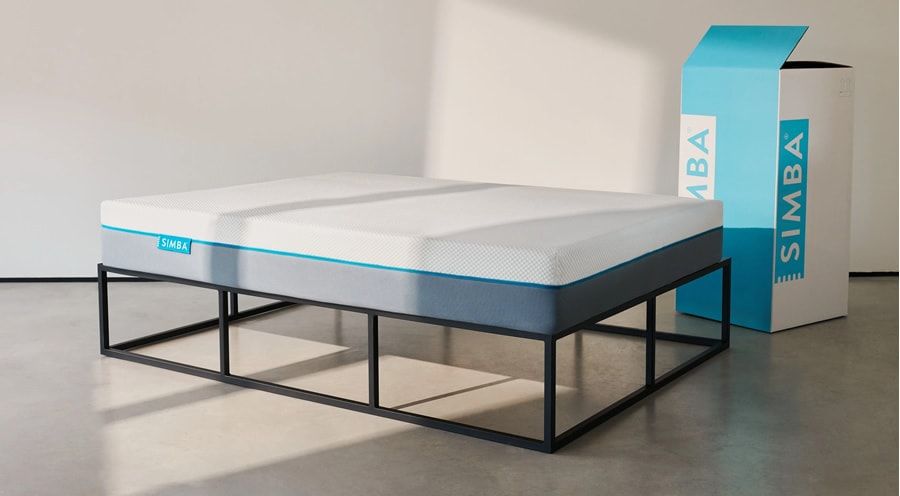 The Simba Mattress comes packaged in a box to your door (Photo: Simba Sleep)