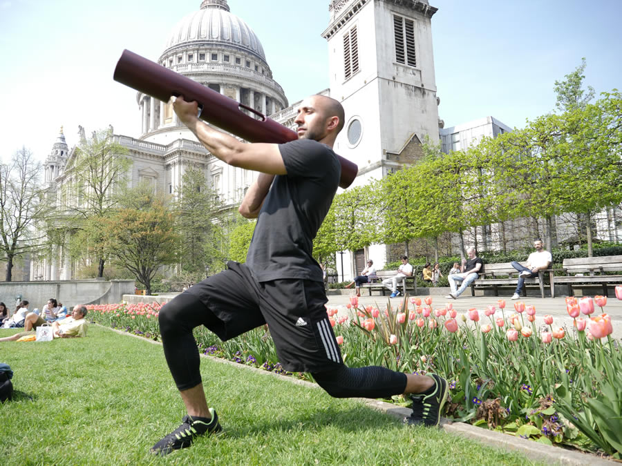 Steve Berry is a London-based Personal Trainer (Photo: Steve Berry)