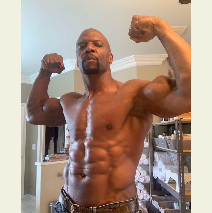 Terry Crews body