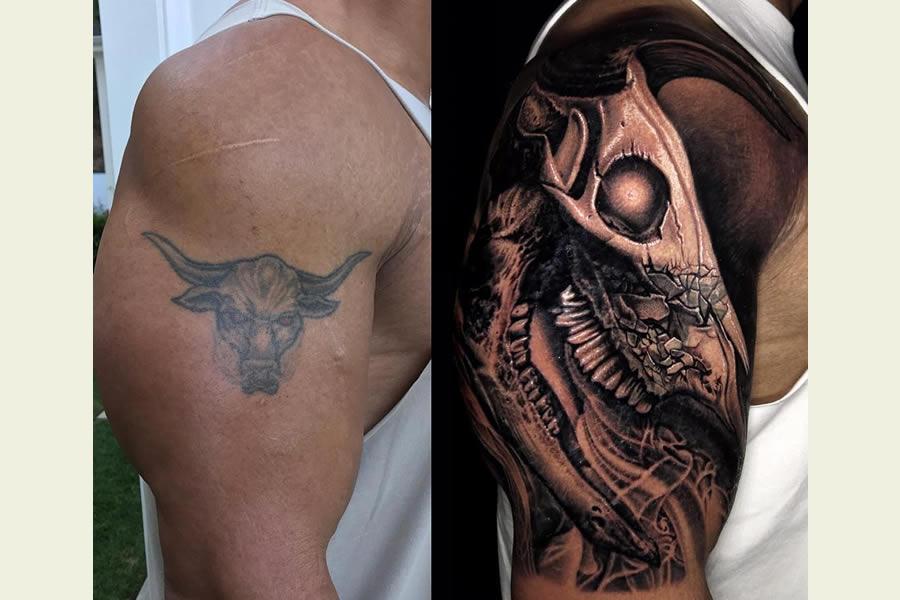 The Rock Tattoo