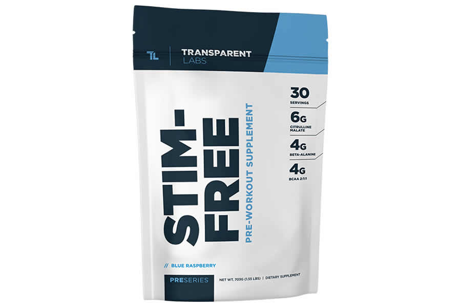 Transparent Labs Pre Workout Stim Free
