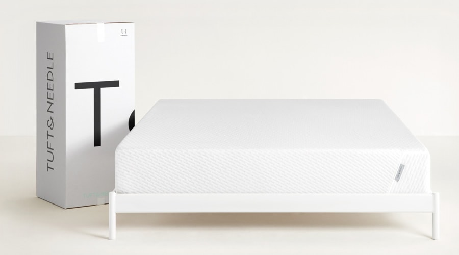 The Tuft & Needle Original Mattress comes shipped in a box (Photo: Tuft & Needle)